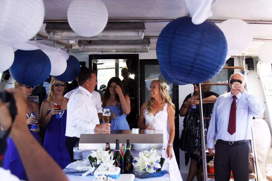 CELEBRATE YOUR NEXT EVENT ON A PRIVATE BOAT CHARTER